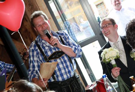 Hochzeit in Hamberg